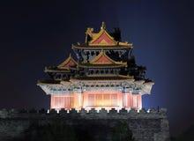 Verbotene Stadt panoramisch, Peking, China Lizenzfreies Stockfoto