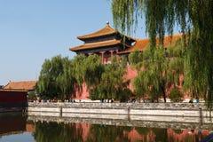 Verbotene Stadt in Peking stockfoto