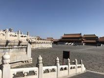 Verbotene Stadt in Peking China Stockbild
