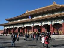 Verbotene Stadt, Peking, China Lizenzfreie Stockfotos