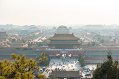 Verbotene Stadt in Peking, China Lizenzfreie Stockfotos