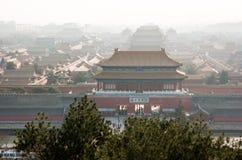Verbotene Stadt in Peking, China Stockfotos