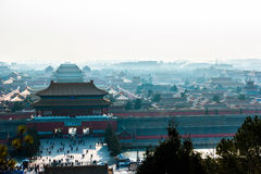Verbotene Stadt in Peking, China Stockbild