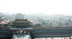 Verbotene Stadt in Peking, China Lizenzfreies Stockfoto