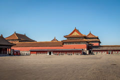 Verbotene Stadt - Peking, China Lizenzfreie Stockfotografie