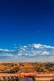 Verbotene Stadt unter blauem Himmel Stockfoto