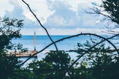 Verbotenes Meer, verbotene Welt Lizenzfreie Stockfotografie