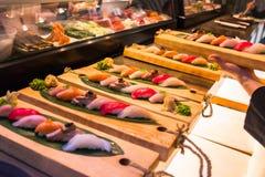 Verbranntes Thunfisch tataki Lizenzfreie Stockfotografie