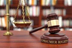 Verbraucher-Rechte Lizenzfreies Stockfoto