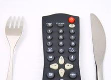 Verbraucher von Fernsehapparat Stockbilder