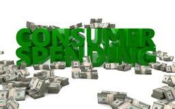 Verbraucherausgaben Lizenzfreies Stockfoto