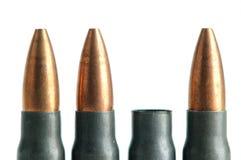 Verbrauchte Gewehr Gewehrkugel Lizenzfreie Stockbilder