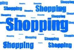 Verbreiten Sie das Einkaufen stock abbildung