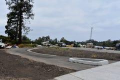 Verbreiterungsprojekt der Landstraße 101 durch Carpinteria, Kalifornien, 4 stockfotos