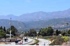 Verbreiterungsprojekt der Landstraße 101 durch Carpinteria, Kalifornien, 18 stockbilder