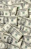 Verbreitung der USA-Banknoten Lizenzfreies Stockbild