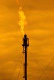 Verbrennungkontrollturm Stockbilder