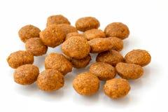 Verbrokkelt het huisdieren Droge Voedsel of Stock Afbeelding