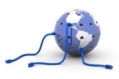 Verbundene Welt Lizenzfreie Stockbilder