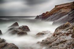 0vercast morze Obrazy Stock