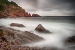 0vercast morze Zdjęcie Stock