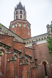Vercelli, εκκλησία Sant'Andrea Στοκ εικόνα με δικαίωμα ελεύθερης χρήσης