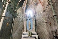 Vercelli, chiesa di Sant'Andrea immagine stock