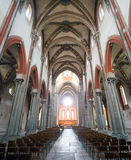 Vercelli, chiesa di Sant'Andrea fotografie stock