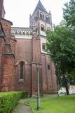 Vercelli, church of Sant'Andrea Royalty Free Stock Photo