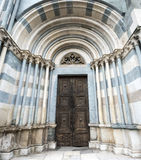 Vercelli, church of Sant'Andrea Royalty Free Stock Image