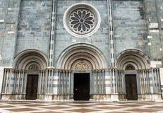 Vercelli, kościół Sant'Andrea Obrazy Stock