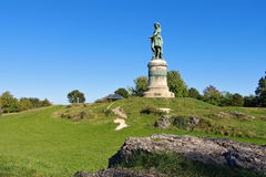 Vercingetorix monument in Burgundy Royalty Free Stock Image