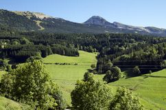 Vercors close to Villard de Lans. France Royalty Free Stock Photography