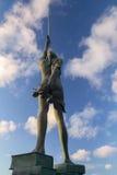 Verdad - estatua en Ilfracombe de Damien Hirst autor Imagen de archivo libre de regalías