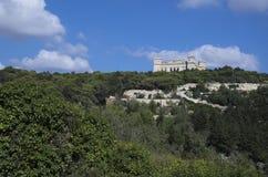 Verdala宫殿 免版税库存照片