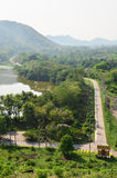 Verdammung Kaeng Krachan, Phetchaburi-Provinz, Thailand Lizenzfreie Stockbilder