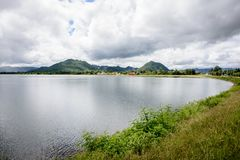 Verdammung Ngwe Taung, Kayah-Zustand, Myanmar Stockbilder