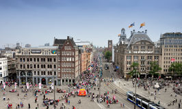 Verdammung quadratisches Amsterdam stockbild