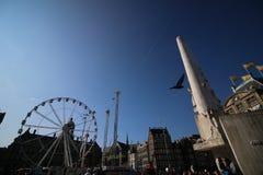 Verdammung quadratisches Amsterdam die Niederlande Lizenzfreies Stockfoto