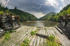 Verdammungs-Forest Austrian-Legierung Stockfotografie