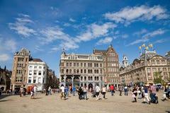 Verdammungsquadrat, Amsterdam Stockbild
