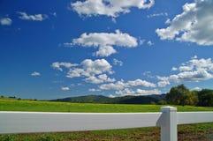Verdant spring landscape Royalty Free Stock Image