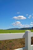 Verdant spring landscape stock photography