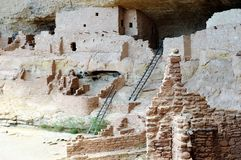 verde мезы жилища скалы Стоковое Фото