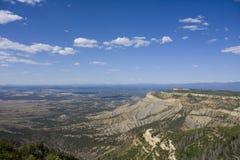 verde национального парка мезы стоковое фото