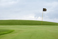 Verde 01 di golf Fotografie Stock