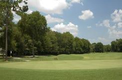 Verde 1 do golfe imagens de stock