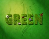 Verde ilustração stock