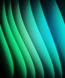 Verde abstracto y azul del fondo Fotografía de archivo