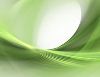 Verde abstrato Fotografia de Stock Royalty Free
